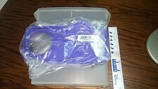 Tupperware Cereal Storer - 13 cups - sheer with PURPLE seal