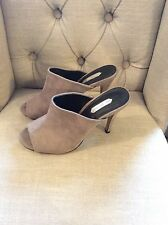 mules. sandals. size 6. grey suedette.Exc Cond. DOROTHY PERKINS