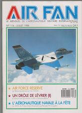 AIR FAN N°116 RESERVE USAF / GRUMMAN C-2A GREYHOUND / BAN DE FREJUS ST RAPHAEL