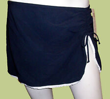 GOTTEX PROFILE TRENDY Blue Ink Navy BATHING SUIT SKIRT COVER UP