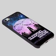 Sleeping With Sirens Infinity Quote Galaxy iPhone 4/4S,5,6,Samsung  S3/S4  Black