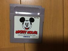 Mickey Mouse Game Boy Japan Nintendo Disney