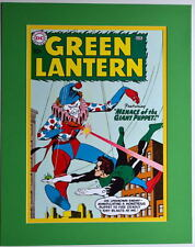 GREEN LANTERN #1 COVER PRINT Professionally Matted DC