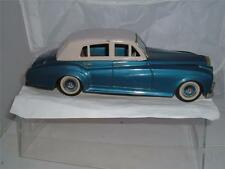 TINPLATE BANDAI JAPAN ROLLS ROYCE SILVER CLOUD NO BACK BUMPER WIRED BASE C PICS