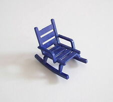 PLAYMOBIL (X135) FORET - Rocking Chair Bleu Maison Forestière 4207