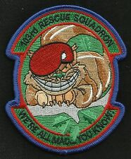 US AIR FORCE 103rd RESCUE SQUADRON 103D RQS PJs Military Patch WE'RE ALL MAD YOU