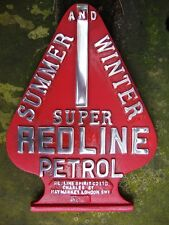 SUPER REDLINE PETROL Garage Sign Heavy gauge cast sign aluminium cast sign VAC14