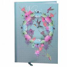 A6 Hardback Lined Notebook Jotter School HUMMINGBIRD Hummingbirds Birds Notes