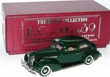 Brooklin BC 014, 1937 Buick Special 2-Door Touring Sedan M-48, green, 1/43