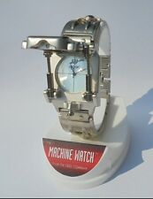 New Edge Co Machine III Futuristic Novelty Piston Wrist Watch