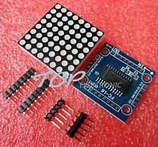 5PCS MAX7219 dot matrix module Arduino microcontroller module DIY KIT