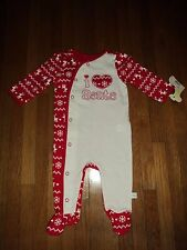 Christmas Baby Snap Pajamas 3 months New with tags