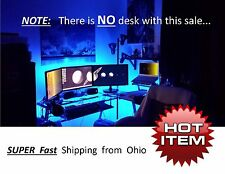 GAMING COMPUTER DESK LED Accent Lighting kit - great GIFT for gamers players HOT