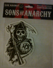 "SONS OF ANARCHY ""REAPER"" VINYL CAR MAGNET 2013"