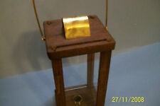 civil war reenactors wooden candle lantern