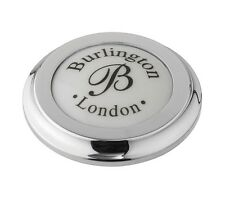 Burlington Traditional Tap Hole Stopper In Chrome     A49CHR