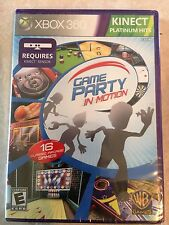 Game Party: In Motion (Microsoft Xbox 360, 2010) USED SEALED