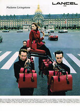 PUBLICITE ADVERTISING 024   1994   LANCEL   sacs bagages de luxe