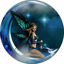 PERSONALISED MOON FAIRY CAR TAX DISC HOLDER SAME DAY FREEPOST