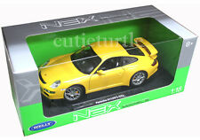 Welly Porsche 911 997 GT3 1:18 Diecast Yellow 18024