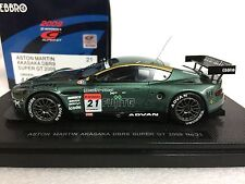 1/43 EBBRO 44366 ASTON MARTIN DB99 2009 SUPERGT GT300 #61 AKASAKA model car