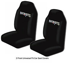 Northwest NFL New England Patriots Car Truck 2 Front Bucket Seat Covers Set