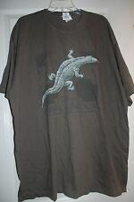 NWT Disney Animal Kingdom Asia T-Shirt Tee Brown Size XXL Made in USA