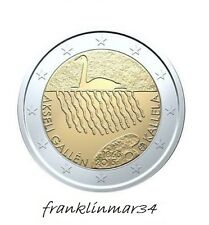 MONEDA CONMEMORATIVA DE 2 EUROS FINLANDIA 2015 2ª EMISION.SIN CIRCULAR.