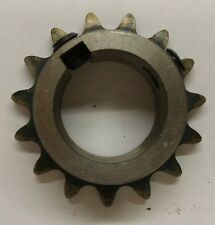 "Roller Chain Sprocket, #35, 15 Tooth, 1"" Bore, 710-315-E"