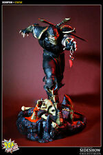 "POP CULTURE SHOCK Mortal Kombat SCORPION 16,5"" Mixed Media Statue Sideshow Ninja"