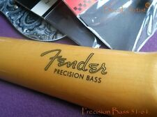 2 x Replacement decal 1951-1961 for Fender Precision Bass Decal Headstock Logo