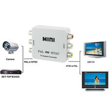 PAL/NTSC/SECAM to PAL/NTSC MINI Bi-directional TV System Switcher Converter