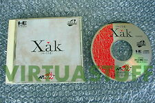 Xak, I-II, 1 + 2, collection, Pc Engine, Duo, RX, Nec, coregrafx, good condition