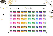 1178~~Kawaii Credit Card Planner Stickers