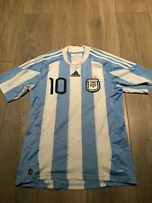 Argentina Home Shirt 2010/11 Messi 10 Small Rare
