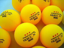 New 100pcs Standar 3-star 40mm Olympic Table Tennis Ball Ping pong Balls orange