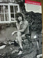 KEITH RICHARDS - MAGAZINE CUTTING (FULL PAGE PHOTO) (REF T16)