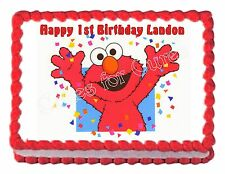 ELMO party decoration edible party cake topper frosting sheet