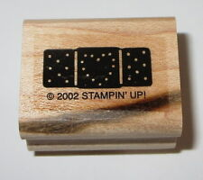 Bandaid Rubber Stamp Heart Stampin' Up! Bandage First Aid EUC Kids Owie