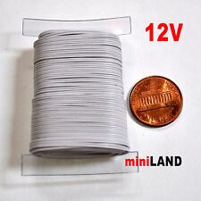 Electrical Wire 32 gauge 50' 2 strand dollhouse miniature light