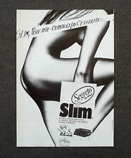 G559 - Advertising Pubblicità - 1989 - SLIM SEGRETO  POTENTE CONTRO LA CELLULITE