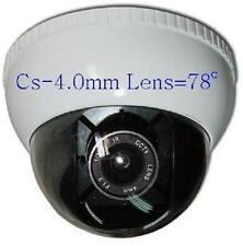 "Sunvision HD 650TVL Indoor CCTV Dome Camera 1/3"" Sony CCD CS-4.0mm Lens (42w)"