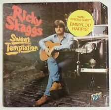 Ricky Skaggs Sweet Temptation LP USA 1979  With Emmylou Harris