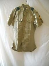 RARE 1962 US ARMY 1ST SERGEANT KHAKI UNIFORM SET W GREEN LEADERSHIP LOOP VIETNAM