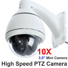 10x Zoom 1/3'' SONY CCD 700TVL High Speed PTZ Dome CCTV MiNi Security D/N Camera
