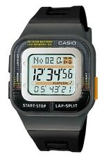 Casio Watch * SDB100-1A 60 Lap & Distance Calculation Black Runner COD PayPal