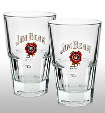 Jim Beam Kentucky Bourbon Whiskey Glass X 2