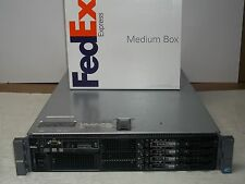 Dell PowerEdge R710 Server 2x2.26GHz 8 Core 24GB 4x300GB Quad Gigabit Dual PS