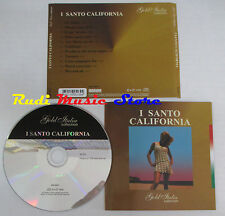 CD I SANTO CALIFORNIA Gold italia collection 2006 italy GIC 8011 mc lp dvd vhs