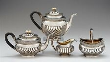Rare 19C Antique Russian Silver Coffee Tea Set A.Sperr 1832
